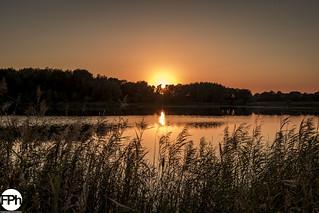 Sunset at Einderbeekven