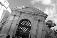 La Valletta - Malta (matteopandolfisp) Tags: details perspective europe urban architecture sliema valletta malta white black blackandwhite doors