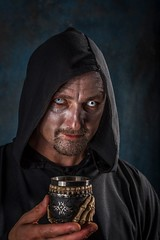 Paul (Duncan Lawler) Tags: duncanlawler hampshire portrait evil melancholy eyes hooded gothic soul gothicsoul worship faith