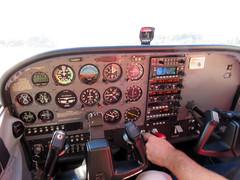 Cessna Cockpit (MasterGeorge) Tags: cessna 172s cockpit n216sp
