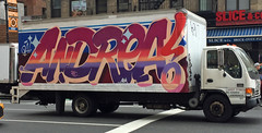 RFC AOK QA! (TheMachineStops) Tags: 2017 outdoor 6thavenue sixthavenue nyc graffiti manhattan newyorkcity truck box vehicle iphone6 andrea wane queenandrea qaaok 14thstreet westvillage graffititrucks streetart urbanart truckgraffiti