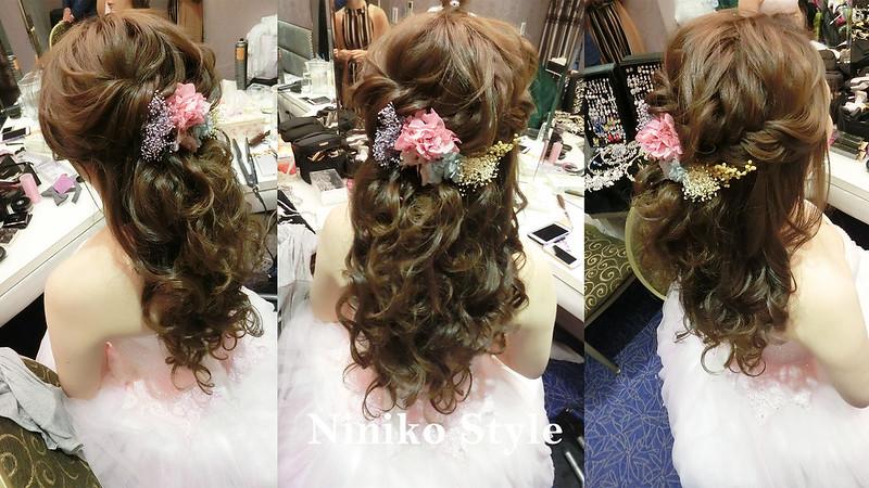 婚紗,髮型,2017,新娘,髮飾,婚宴,頭紗,台中