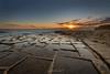 Sunrise at the Salt Pans (glank27) Tags: salt pans marsascala malta mediterranean landscape karl glanville canon eos 5d mk iv ef 1635mm f4l is usm sun burst hdr sunrise seascape ngc haida gnd saltpans