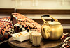 TEA WITH MILK_ (Mohamed.Serag) Tags: arabian coffee arabic arab furniture milk tea sugar gold mug saudi egypt