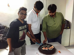 B'day celebration@DitIndia