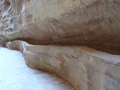 Petra - Al Siq  - Water half pipe