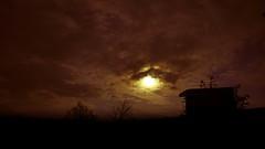 Hrašce, Postojna, Slovenia (DiSorDerINaMirrOR) Tags: sonyalpha sony6000 sony sonyalpha6000 sunset clouds sky nature slovenia hrašce explore winter autumn november cabin