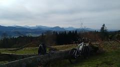 Pause am Kolomansberg (twinni) Tags: mw1504 04112017 bike biketour bergziege winterradl winterbike 20 salzburg austria österreich flachgau