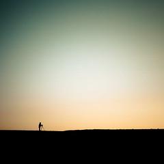 Just a photographer (Zeeyolq Photography) Tags: photo iceland man tripod silhouette takingashot sky photographer sunset austurland islande
