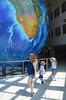 Sue & The Kids & Eartha (Joe Shlabotnik) Tags: maine yarmouth sue delorme globe proudparents garmin eartha everett violet july2017 2017 afsdxvrzoomnikkor18105mmf3556ged