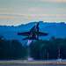 SUNSET @USNTACDEMO TAKE-OFF