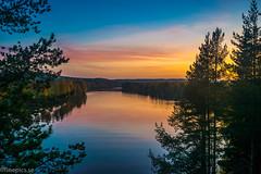 Vy från Sandkammen (johan.bergenstrahle) Tags: 2017 finepics umeälv autumn evening höst kväll landscape landskap natur river september sverige sweden umeriver vännäs älv