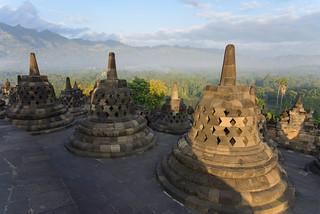 Borobudur, Indonesia - The Borobudur Temple