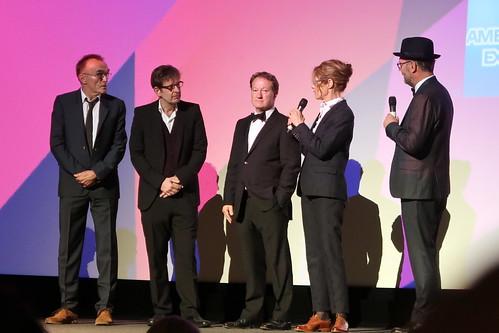 Billie Jean King - Danny Boyle, Simon Beaufoy, Valerie Faris, Jonathan Dayton at the Battle of the Sexes London gala