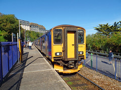 150265 & 150104 St Ives (1) (Marky7890) Tags: gwr 150104 150265 class150 sprinter 2a18 stives stivesbayline railway cornwall train