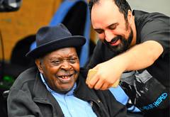 Beloved Delta Bluesman CeDell Davis Passes Away at 91, September 27, 2017 (forestforthetress) Tags: blues bluesmusic music musician deltablues jukejointfestival man face people hat camera selfie omot nikon outdoor color cedelldavis