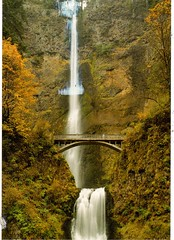 Postcrossing US-4926760 (booboo_babies) Tags: waterfalls columbiariver oregon bridge river unitedstates postcrossing