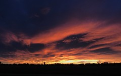 299/365/6 (f l a m i n g o) Tags: wednesday 2017 18th october colorado lakewood sky morning sunrise 365days project365