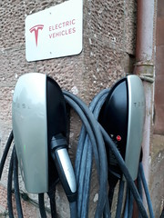 Photo of Teslar Charging Points
