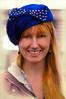 Aye Lassie (Clever Poet) Tags: beautiful redhaired red headed girl lassie woman blue eyes hat big smile daughter pumpkin pie days colorado