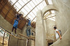 thatching 002 (francois f swanepoel) Tags: architechture argitektuur dekriet grasdak grass roof slidefilm slidescans thatchroof thatching trusses