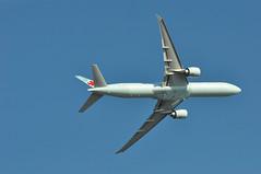 AC0855 LHR-YVR (A380spotter) Tags: takeoff departure climb climbout bank banking turn belly boeing 777 300er cfnnu ship746 aircanada aca ac ac0855 lhryvr runway09r 09r london heathrow egll lhr