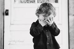 Adorable Despair (Linda Yolanda) Tags: child children sadness emotion lifestyle littleboy cute people blackandwhite despair