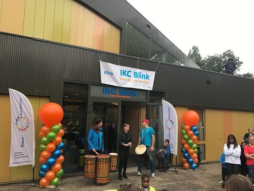 Ballonpilaar Breed Rond IKC Blink Schiedam
