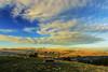 Tramonto Gran Sasso (Fab1111) Tags: mountain sunset nature landscape gransasso italia abruzzo italy outdoor