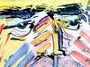 Wolfram Zimmer: friends and acquaintances - Freunde und Bekannte (ein_quadratmeter) Tags: wolframzimmer bilder kunst malerei gemälde wolfram zimmer konzeptkunst objektkunst mein freiburg burg birkenhof kirchzarten ausstellung ausstellungen peinture exhibition exhibitions zeichnung tusche wasserfarben acryl bildnis köpfe freunde bekannte pictures art painting paintings concept object drawing ink watercolors acrylic portrait heads friends acquaintances