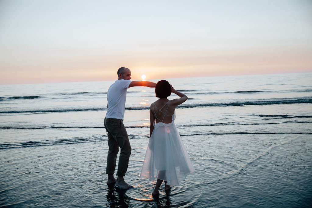 愛情寫真, 婚紗攝影,自然風格