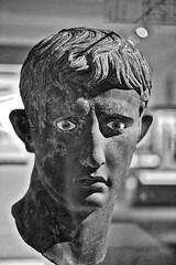 Image as power (Phancurio) Tags: antiquity bust sculpture bronze rome emperor augustus egypt meroe politicalpower