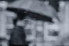 Tear (tomorca) Tags: rain umbrella woman bokeh fujifilm xt2 street voigtlander 58mm