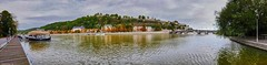 Panorama Citadelle Namur (BE) (YᗩSᗰIᘉᗴ HᗴᘉS +10 000 000 thx❀) Tags: panorama panasonicdmcgx8 landscape water sliderssunday sunday waterscape belgium belgique namur citadelle citadelledenamur europa europe
