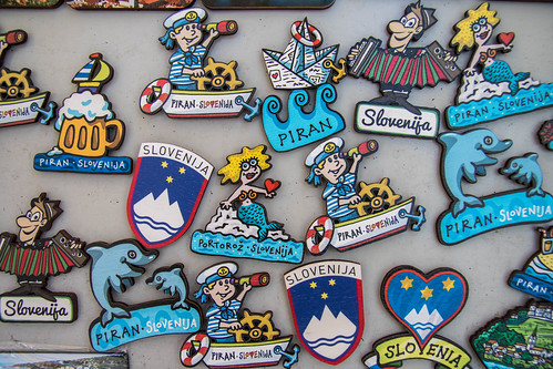 Fridge Magnets - Slovenia/Piran