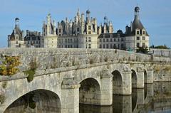 Pont sur le Cosson, Chambord (RarOiseau) Tags: chambord château pont pierre loiretcher centrevaldeloire rivière eu architecture flickrunitedaward saariysqualitypictures 200fav v3500