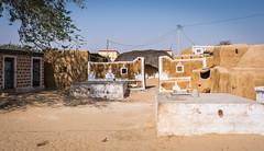Rajasthan - Jaisalmer - Desert Safari traditional villiage-4