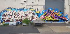 Caper & Ling... (colourourcity) Tags: graffiti graffitimelbourne graffitiwriters streetart streetartnow streetartaustralia melbourne burncity awesome original copyright letters caper dbl trbl daffyduck daffy looneytunes ling lingid linger id gh