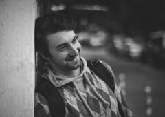 The power of smile.. (Pavel Valchev) Tags: 14 57mm konica hexanon ar nex ilce fullframe a7ii ff sony adapted adapter mf manual vsco film bokeh man lightroom photoshop convert street portrait camera lens vintage mirrorless fe