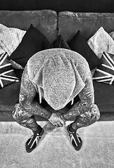Downtime (ska 1963) Tags: hoodie tattoo tattoos tattooed blackwhite blackandwhite unionflag unionjack sofa hot resting adobe picasa 500px photobox photo photography flickr google yahoo facebook explore image lightbox mymedia media cool toolwiz autofocus search creative icloud myphoto photostream pics pix images blog samsungs8 samsung s8
