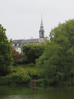 Saint Peter's Church, seen from the Ørstedsparken