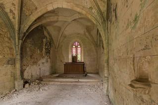 Chapelle du baptisé mérulé.