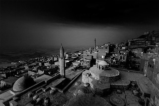 First lights in Mardin...