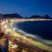 Copacabana at dusk