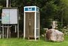Sunny Hill Resort (Katherine Ridgley) Tags: ontario northernontario madawaskavalley madawaska sunnyhillresort barklake cottage camping phonebooth phone landline relic