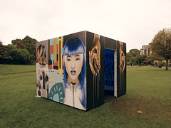 art by the sea (auroradawn61) Tags: bournemouthartsbytheseafestival cube bournemouth dorset uk england october 2017 lumixlx100 artwork