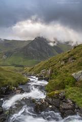Tryfan [EXPLORED] (marc_leach) Tags: tryfan ogwenvalley snowdon snowdonia mountain clouds landscape cymru northwales nikon