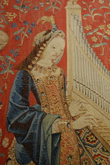 Paris (mademoisellelapiquante) Tags: museedecluny arthistory artmuseum paris france medieval middleages tapestry