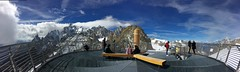 La terrazza! (fata_ci) Tags: montebianco skyway puntahelbronner cabinovia neve ice ghiaccio panorama landscape courmayeur sky