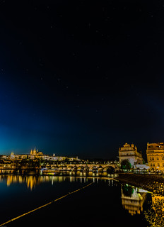 Stars shining above the Golden City